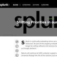 Dans une communiqué succinct, Splunk annonce son retrait du marché russe sans donner de réelle cause. (Crédit : D.R.)