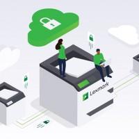 Les services cloud de Lexmark intègrent aussi une solution de gestion des impressions, un tableau de bord pour visualiser les consommations d'impressions dans l'entreprises, et une application se connectant aux API des fournisseurs de stockage cloud public. (Crédit : Lexmark)