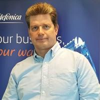 Axel Gerke a occupé plusieurs postes chez Telefonica depuis son arrivée dans l'entreprise il y a 12 ans. (Crédit : Telefonica)