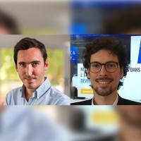 Fondé en 2012 par Julien Goumet (à gauche) et Romain Juillet, Bocasay compte 110 collaborateurs. (Crédit : D.R.)