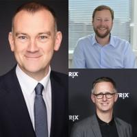Darren Finey (à gauche) a intégré Citrix il y a deux ans, Eric Kline (en haut) il y a 19 ans. Lee Hughes est lui arrivé il y a un peu plus d'un an. (Crédit : Citrix)