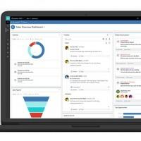 Microsoft Dynamics est l'ERP le plus utilisé par les entreprises de moins de 5000 salariés ayant répondu à l'étude de CSA. Au-delà, SAP est privilégié (52% et jusqu'à 70% au-delà de 50 000 salariés). (Crédit : Microsoft)