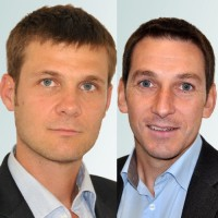Christian Michaelis (à gauche) et Hervé Malinge sont à l'origine d'Ioocx, soutenu dès ses premiers pas par Nextedia. (Crédit : Ioocx)