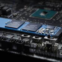 A l'ajout de SSD Optane Memory dans un emplacement M.2 de la carte mère du PC, Windows le reconnait comme un pool de stockage combiné unique. (Crédit : Intel)