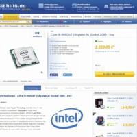 L'Intel Core i9-9990XE est conçu spécifiquement pour les services financiers. (Crédit : CaseKing.de)