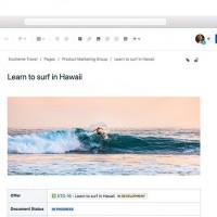 Atlassian a facilité l'ajout de nouveaux éléments visuels au contenu de Confluence avec ses dernières mises à jour. (Crédit : Atlassian)