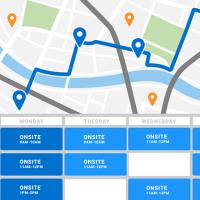 MapAnything entend faciliter l'organisation des entreprises en leur permettant de cartographier l'activité de leurs agents de terrain. (Crédit : MapAnything)