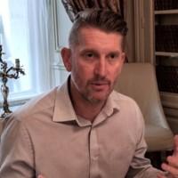 Christian Reilly, vice-président et directeur technique de Citrix, à l'occasion d'un point presse organisé à Paris le 16 avril 2019 pour marquer les 30 ans de Citrix. (crédit : D.F.)