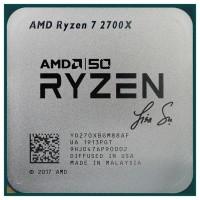 Le Ryzen 7 2700X est pourvu de la signature de Lisa Su, la CEO d'AMD. (Crédit : AMD)