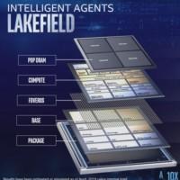 La puce Lakefield combine plusieurs éléments qui débouchent sur un système sur puce singulier : un CPU basé sur l'architecture « Sunny Cove », supposée être à la base de « Ice Lake », ainsi qu'un processeur Atom « Tremont ».