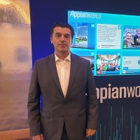 Xavier Grimaud, directeur France d'Appian, a en outre indiqué que l'équipe française de l'éditeur était aujourd'hui composée d'une vingtaine de personnes et que la croissance de l'activité locale devrait doubler cette année. (Crédit : Nicolas Certes)