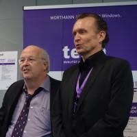 Siegbert Wortmann PDG de Wortmann AG (à gauche), et Ben Gayer, directeur de Terra Computer France. Crédit photo : D.R.