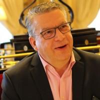 Bruno Lecomte, responsable commercial revendeurs chez Epson France, nous a expliqué les tenants et aboutissants des réflexions du fournisseur sur le channel. (Crédit : Bastien Lion)