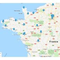 Bien représenté dans l'Ouest de la France, Axians manquait toutefois d'implantations en Normandie. Illustrations : Google Maps.