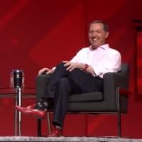 Jim Whitehurst, CEO de Red Hat, a pris la parole aux côtés de Ginni Rometty lors du dernier Red Hat Summit, en mai. (Crédit : Red Hat)