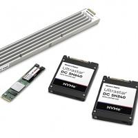 Dans la famille SSD NVMe de Western Digital, l'Ultrastar DC SN340 sera disponible en quantité limitée durant le 3ème trimestre 2019. (Crédit : Western Digital)