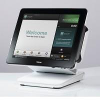 A l'image du TCX800, tous les terminaux point de vente de Toshiba sont disponibles depuis juillet dernier chez Pedab France. Crédit photo : D.R.