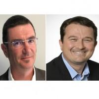 Laurent Vimond, le responsable de 4CAD CRM (à gauche) et Janick Valbousquet, associé de 4CAD Group. Crédit photo : D.R.