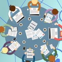 60% des éditeurs ciblant les entreprises auront introduit, sous une forme ou sous une autre, des aspects sociaux et collaboratifs dans leurs solutions en 2023. Illustration : D.R