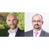 Nicolas Jacquey (à gauche) aura la charge du secteur Industrie et Services, et Stéphane Ralite est promu DGA business développement chez Foliateam. (Crédit : Foliateam)