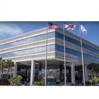 Si elle est exacte, l'offre de reprise du fonds Appollo valorise Tech Data 16% de plus que sa valeur actuelle en bourse. Photo : le siège de Tech Data à Clearwater en Floride (crédit : D.R.)