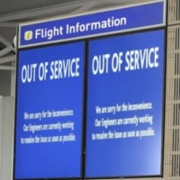 L'aéroport de Brisol (Angleterre) avait été ciblé en 2018 par une attaque par ransomware ayant provoqué l'interruption de service d'information aux voyageurs pendant 48 heures. (crédit : D.R.)