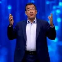 Jean-Pierre Brulard occupe des postes de direction des activités commerciales de VMware depuis bientôt onze ans. (Crédit : VMworld/YouTube)