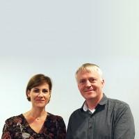 Dag-Adler Blakseth, cofondateur et CEO d'Element Logic, a nommé Isabelle Bion, directrice générale de l'intégrateur norvégien en France. (Crédit : Element Logic)