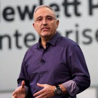 Antonio Neri, le CEO de HPE, a choisi Discover More Munich pour présenter la nouvelle plate-forme de gestion unifiée des environnements hybrides du fournisseur. Crédit photo : D.R.