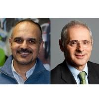 Hayssam Saleh (à gauche), président d'Ebiznext, gardera la responsabilité de son entreprise au sein du groupe Umanis, présidé par Laurent Pipszownik. (Crédit : D.R.)