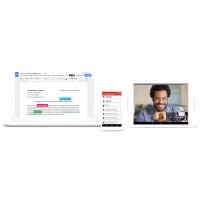 G Suite recouvre l'ensemble des applications bureautiques et collaboratives de Google, telles que Gmail, Docs, Drive, Calendar, Hangouts, etc. (Crédit : Google)