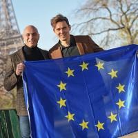 Daan de Wever (à droite) restera CEO du groupe issu de la fusion, et Laurent Silvestri gardera ses fonctions de directeur d'OpenIP tout en étant responsable de la stratégie du groupe. (Crédit : Destiny)