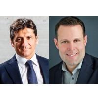 Marco Fanizzi (à gauche) arrive de Dell Technologies et Mercer Rowe était auparavant chez Qumulo. (Crédit : Commvault)
