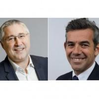 Patrick Rohrbasser (à gauche) et Thierry Lottin ont été promus à la tête des activités de Veeam Software respectivement dans  le Sud de l'EMEA et en France. Crédit photo : D.R.