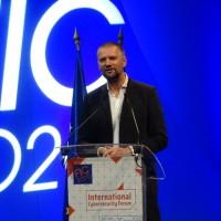 Guillaume Poupard plaide pour une France et une Europe forte dans le domaine de la cybersécurité. (Crédit Photo JC)