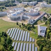Le siège de Bouygues Construction à Guyancourt, dans les Yvelines. (crédit : Bouygues Construction)