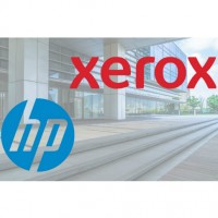 Xerox s'engage a rétribuer les actionnaires de HP 24 $ par action, dont 18,4 $ en numéraires. Illustration : D.R.