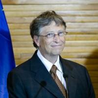 Bill Gates a annoncé son retrait du conseil d'administation de Microsoft. (Crédit Photo : Parlement européen/Visual Hunt)