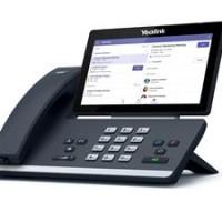 Le T58A de Yealink est le haut de la gamme des téléphones de bureau du fabricant chinois certifiés pour la plate-forme collaborative de Microsoft. Crédit photo : D.R.