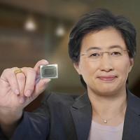 Lisa Su, présidente et CEO d'AMD, reste confiance sur l'activités du fondeur pour le reste de l'année et maintient tous ces objectifs. (Crédit : AMD)
