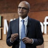 Les résultats financiers de Microsoft ont dépassé les attentes des analystes sur les trois premiers mois de l'année. Le CEO Satya Nadella estime que la firme de Redmond est bien placée pour faire face à ce qui arrive. (Crédit : Microsoft)