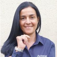 Nora Moumni, Responsable de comptes distribution chez Acronis : « Notre stratégie est de permettre aux clients d'avoir des données fiables, accessibles, confidentielles, authentiques et sécurisée. » Crédit photo : D.R.