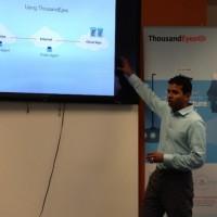 Le CEO de Thousandeyes Mohit Lad (ici à San Francisco lors d'un IT Press Tour) restera un temps chez Cisco pour assurer l'intégration de sa plateforme. (Crédit S.L.)