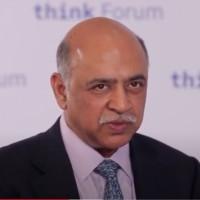 Nommé fin janvier à la tête d'IBM, Arvind Krishna pointe les dangers des biais de traitement générés par l'intelligence artificielle qui nécessitent de soumettre les applications de l'IA à des tests audités. Ci-dessus, lors de la conférence Think. (Crédit : IBM)