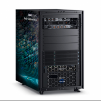 Le Dell EMC Ready Solutions for Virtualized HPC, sur base PowerEdge R740xd et C4140, exploite des puces Intel Xeon, des GPu Nvidia V100 et du stockage Isilon F800. (Crédit : Dell)