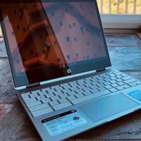 Abordable, design solide et bonne autonomie sont les atouts de ce Chromebook x360 de HP. (Crédit Photo : IDG)