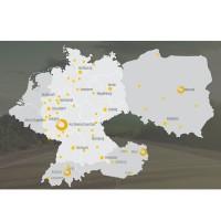 Entreprise allemande, Technogroup est très présente dans toute la région DACH ainsi qu'en Pologne. (Crédit : Technogroup)