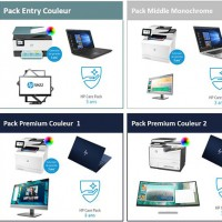 HP crée des packages pour le home office
