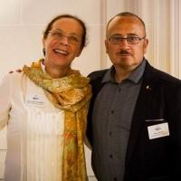 Claire-Isabelle Delancray et Pierre Patuel, cofondateurs et dirigeants de DPii Télécom et Services, conserveront leurs fonctions après le rachat de leur société par Odyssey. (Crédit : DPii)