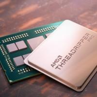 AMD Threadripper Pro dispose de 64 cœurs, 128 voies PCIe et une prise en charge de la mémoire à 8 canaux. (Crédit : AMD)